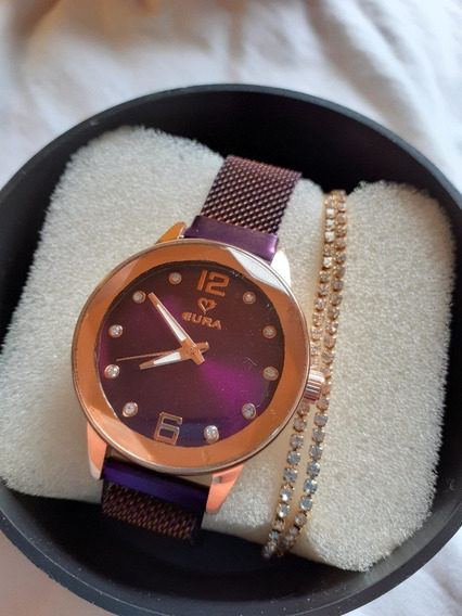 Relógio Feminino Magnético