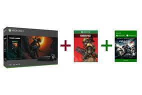 Consola Xbox One X 1tb Shadow Of Tomb Raider Nueva Y Sellada