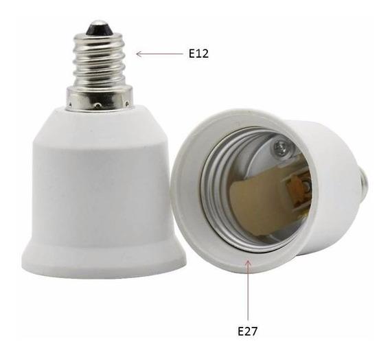 Socket Adaptador E27 A E12