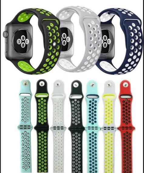 Pulseira De Silicone Para Apple Watch Nike