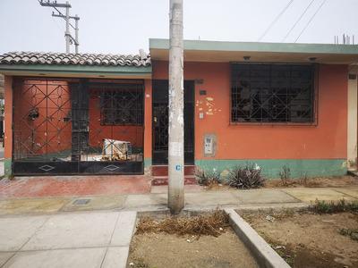 Remato Casa En Esquina - Urb. Entel Perú