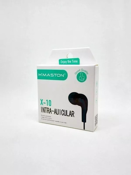 Kit 15 Fone De Ouvido Intra Auricular X10 Atacado