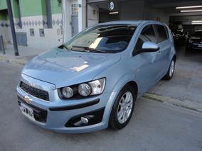 Chevrolet Sonic 1.6 Ltz 5 Ptas 2013 Azul Impecable