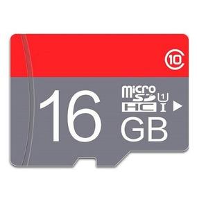 Cartão De Memoria Micro Sd Tf, Classe 10 16 Gb Com Adaptador