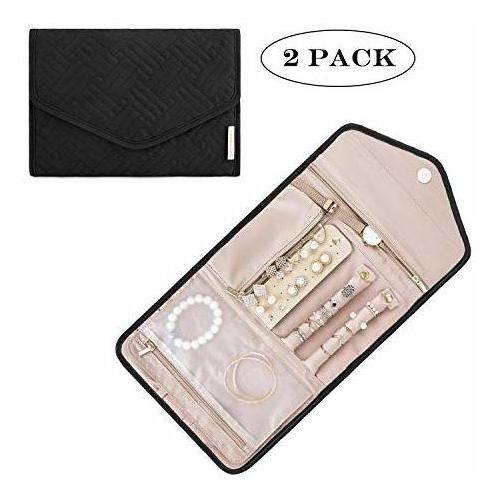 Pack/2 Organizador De Joyas De Viaje Bagsmart, Small, Black