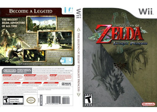 The Legend Of Zelda Twilight Princess Wii Compatible Wii-u