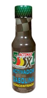 Ahorrador De Gasolina Actimax5000x1 Super Aditivo 5 Piezas