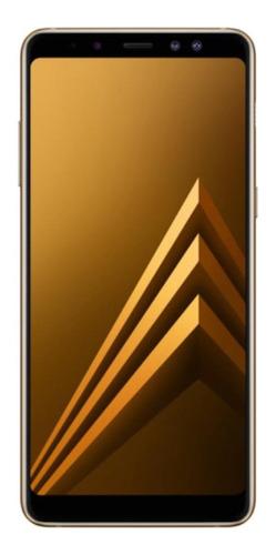 Samsung Galaxy A8+ Dual SIM 64 GB Dourado 4 GB RAM