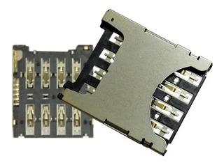 Leitor Chip Moto G4 / G4 Plus Conector Slot Flex Sim Card