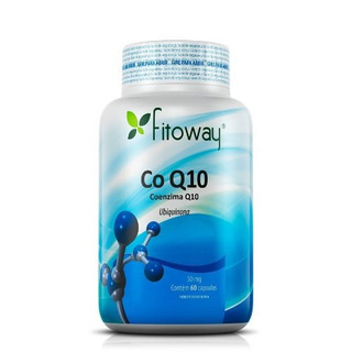 Coenzima Q10 Fitoway - 60 Cápsulas Saúde Do Coraçãoi