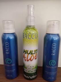 Kit C/2 Mousse Spray Depeeling + Pós Depilatório Racco Promo