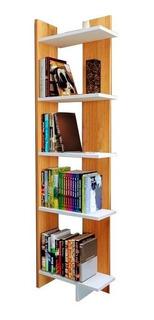 Librero Esquinero Minimalista
