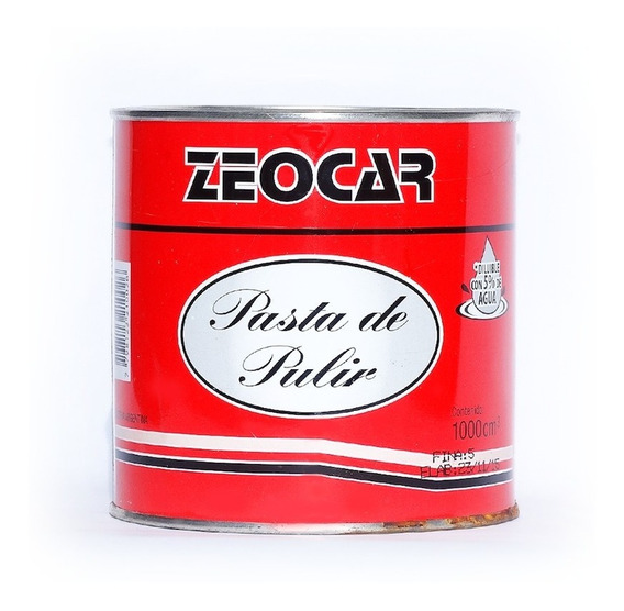 Pasta De Pulir Fina Zeocar 1/2 Lt - Pisano