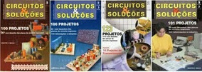 Coleção Revistas De Eletrônica Circuitos E Soluções Frete Gr