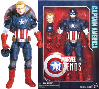 Marvel Icons Capitan America Legends Avengers Infinity Capta