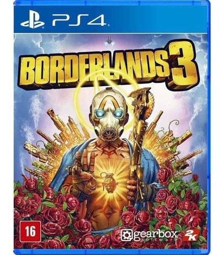Borderlands 3 - Ps4 Mídia Física Legendas Em Português