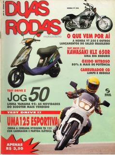 Duas Rodas N°230 Jog 50 Hyosung Tn 125 Kawasaki Klx 650r
