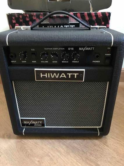 Amplificador Hiwatt G15 Maxwatt Series