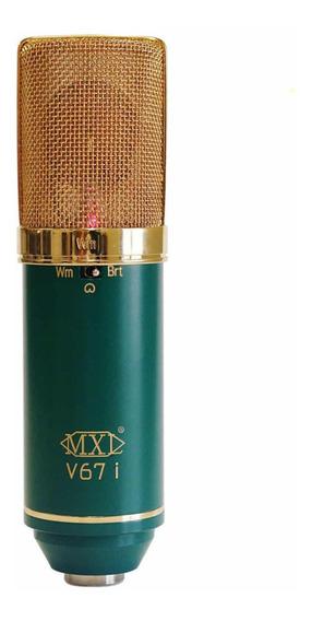 Microfone Condensador Mxl V67i - Loja Oficial Mxl