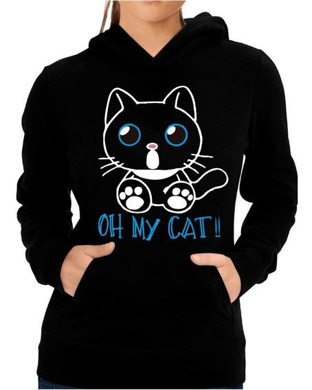 Sudadera Gato Oh My Cat!! Adulto Unisex