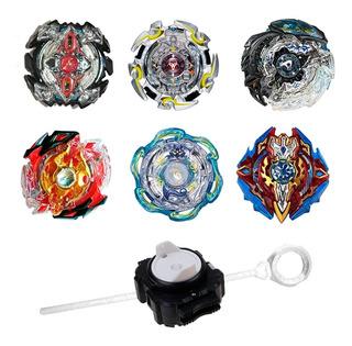 Beyblade Burst Caja Trompo A Elección P/ Armar Con Lanzador