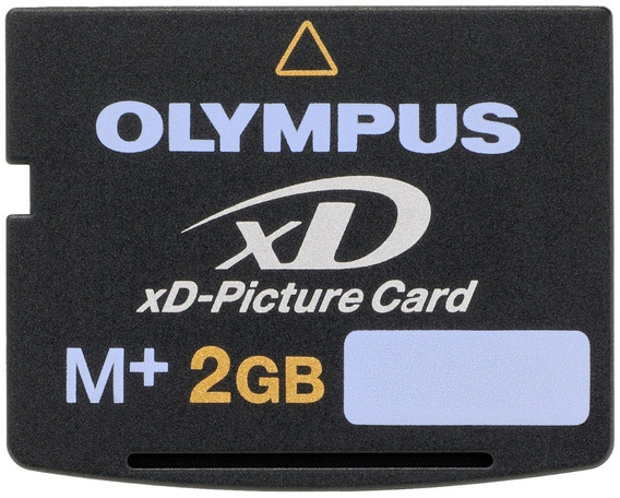 Genuine 2gb Olympus Xd Picture Card Type M-xd2gb Japan