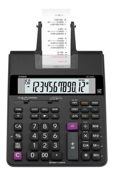 Calculadora Com Impressão Hr-150 Rc Bivolt Casio Original