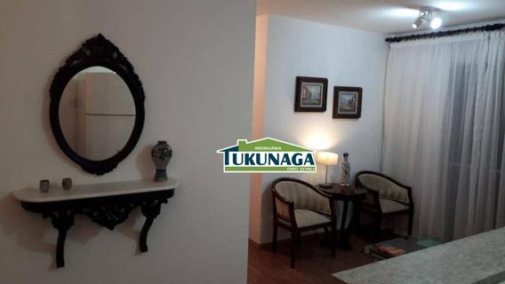 Apartamento Com 02 Dormitórios Sendo 01 Suíte - Gopoúva -54m² - Ap2344