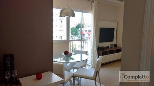 Imagem 1 de 13 de Apartamento Com 2 Dormitórios À Venda, 64 M² Por R$ 280.000 - Rocha. - Ap0050