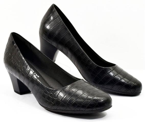 Zapato Piccadilly Vestir Clásico Croco 110072 Calzados Susy