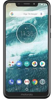 Smartphone Mororola Moto One 64gb Dual Tela 5.9 4g +brinde