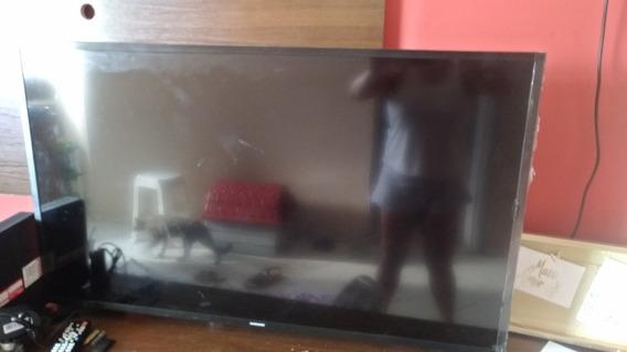 Tv Smart Sansung 43 Tela Quebrada