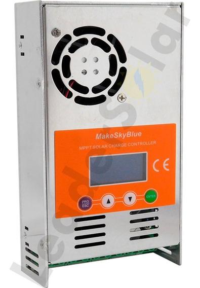 Controlador De Carga Solar Mppt 60a 12v 24v 36v 48v Makeskyblue Original V118 Pronta Entrega