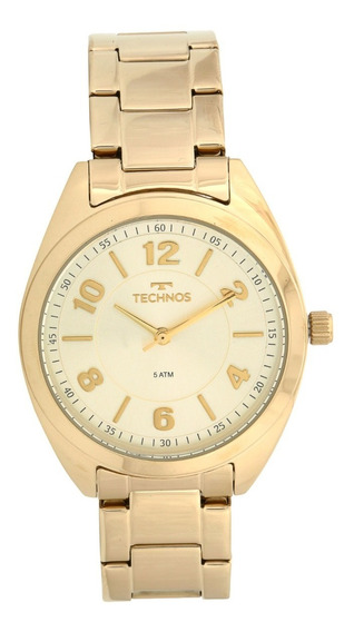 Relógio Technos 2035mcf4x Dourado Promoção Lindo Top