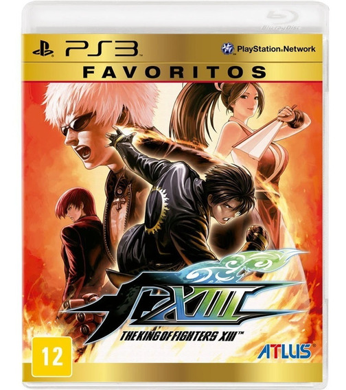 The King Of Fighters Xiii Ps3 Digital Original Tkof 13