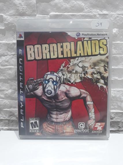 Jogo Borderlands Ps3