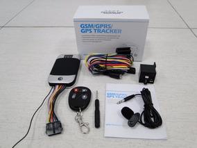 Rastreador Gps Bloqueador Veicular Original Tracker Tk303 G