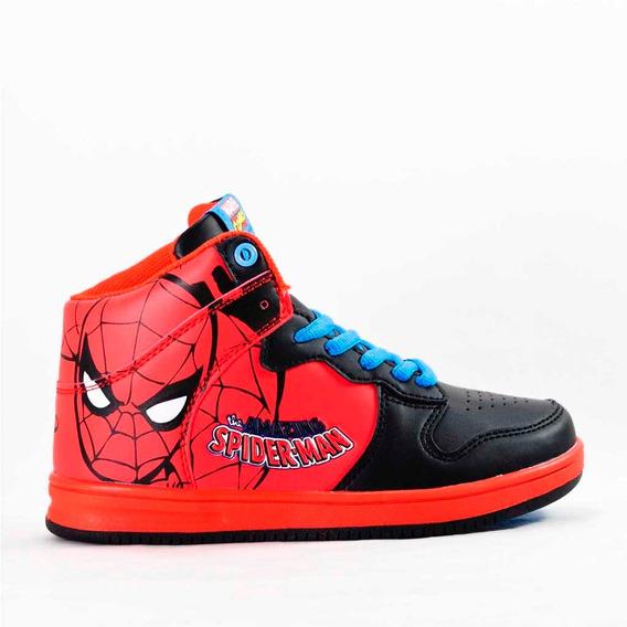 Zapatillas Marvel Casual Skater Comics Spider Kids Niño 1801
