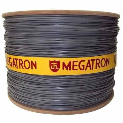 Imagem 1 de 4 de Cabo Telefone Cci 50x1 Par Megatron Com 1000 Metros