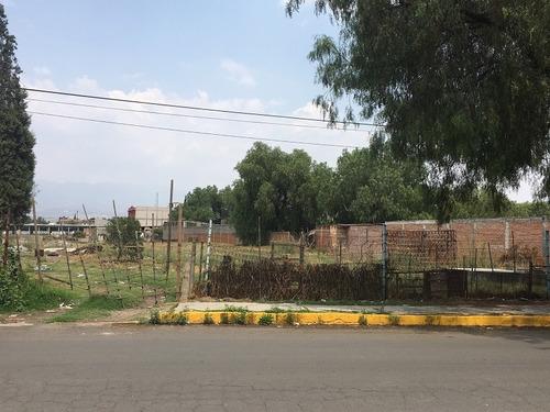 Imagen 1 de 8 de Terreno Habitacional En San Vicente Chicoloapan