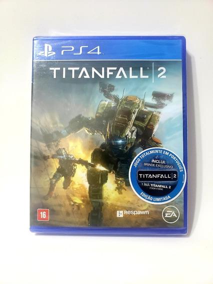 Jogo Titanfall 2 Ps4 Mídia Física Novo Lacrado Frete Grátis