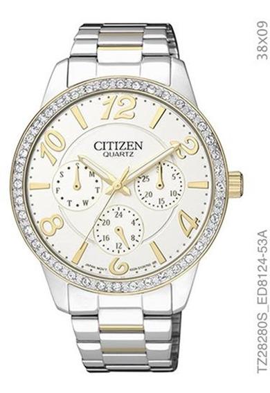 Relógio Citizen Feminino Bicolor Tz28280s