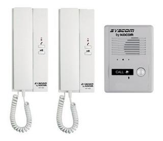 Interfon, Kit Audio Portero 2 Auriculares Y Frente De Calle