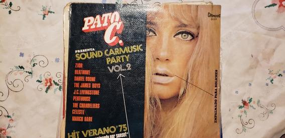 Disco Vinilo Sound Carmusic Party Vol 2 Autor:pato C