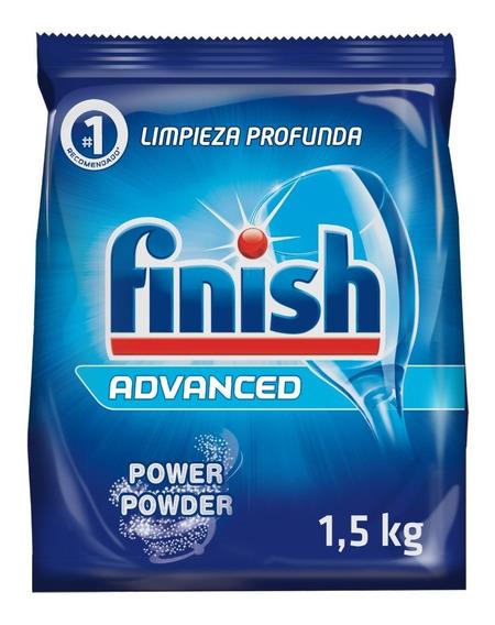 Detergente En Polvo Para Lavavajillas Finish 1,5 Kg Rb