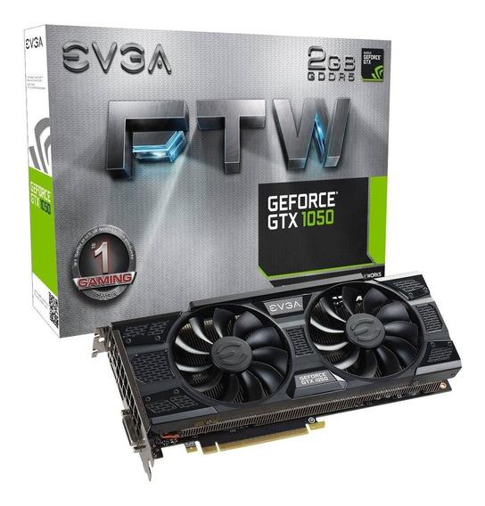 Placa De Video Evga Geforce Gtx 1050 2gb Gddr5 Ftw Gamer Fps