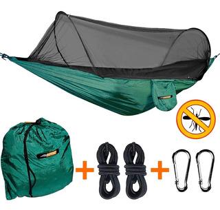 Rede Dormir Mosquiteiro Harpia Ntk Camping Selva 200kg Lazer