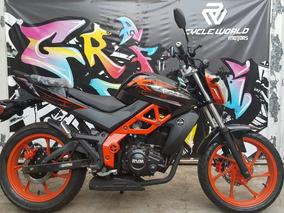 Jawa Rvm 250 F4 Naked Naranja 0km 2018 Hasta 19/3