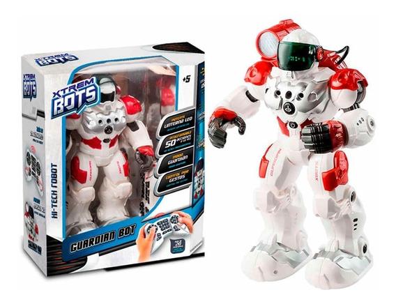 Robot Xtrem Bots Guardian Control Remoto Luz Y Sonido