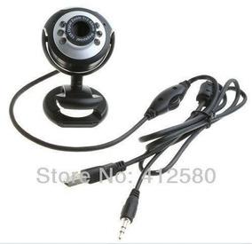 6 Led Usb2.0 Hd Webcam Web Cam Video Camera Usado